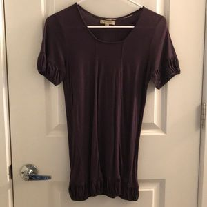 Burberry plum shirt size S
